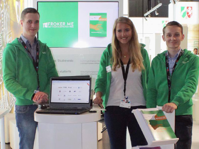 Froker.me Messestand dmexco 2017